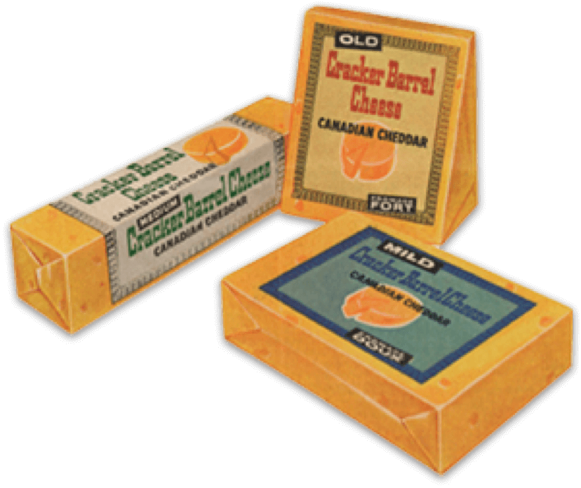 Classic Cracker Barrel Cheese packages