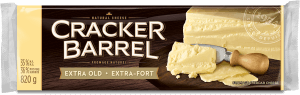 Cracker Barrel Cheese Block - Extra Old White - 820 g
