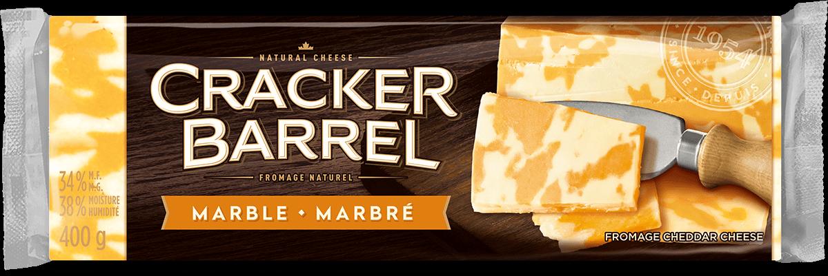 Cracker Barrel Cheese Block - Marble - 400 g
