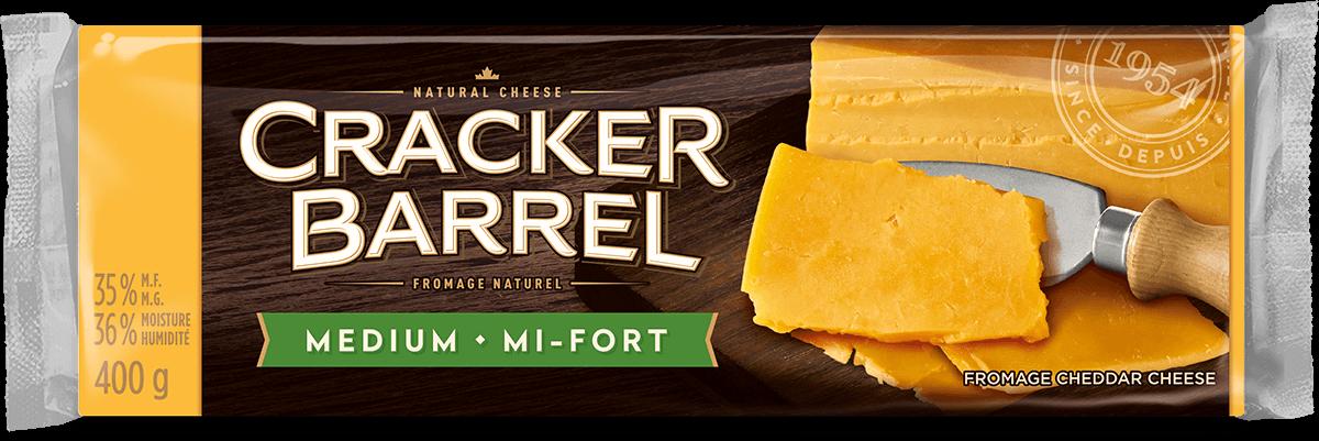 Cracker Barrel Cheese Block - Medium - 400 g