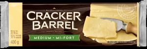 Cracker Barrel Cheese Block - Medium White - 400 g