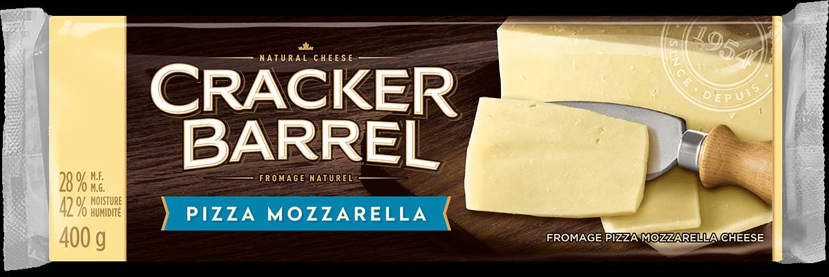 Cracker Barrel Cheese Block - Pizza Mozzarella - 400 g