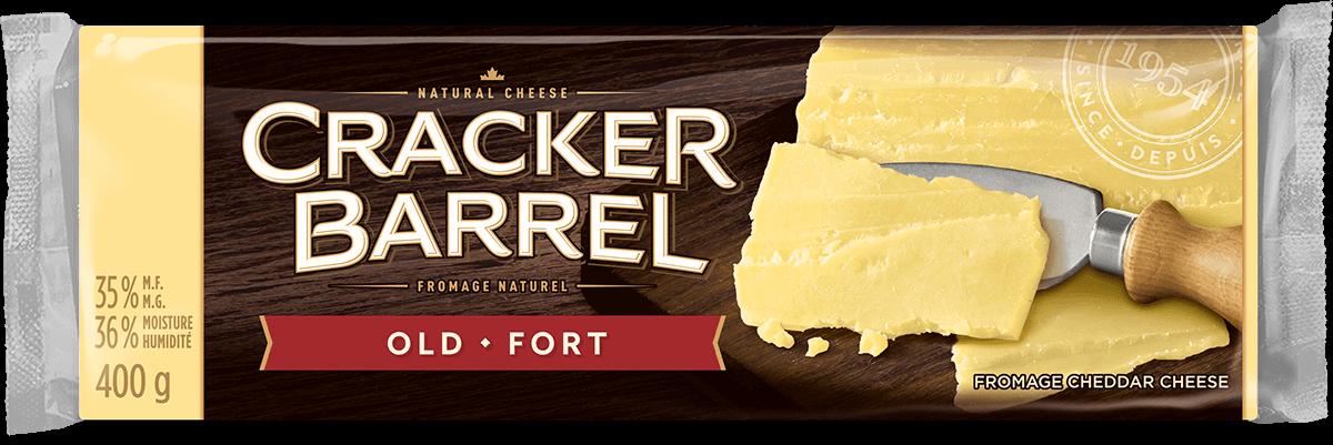 Cracker Barrel Cheese Block - Old White - 400 g