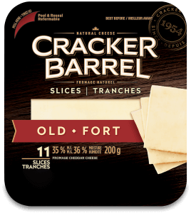 Cracker Barrel Cheese Slices - Old - 11 Slices - 200 g