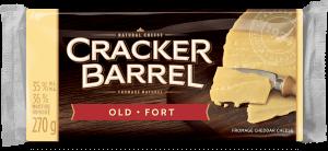 Cracker Barrel Cheese Block - Old White - 270 g