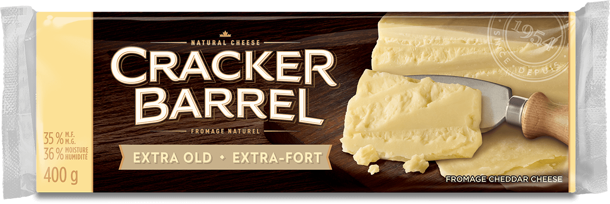 Cracker Barrel Cheese Block - Extra Old White - 400 g