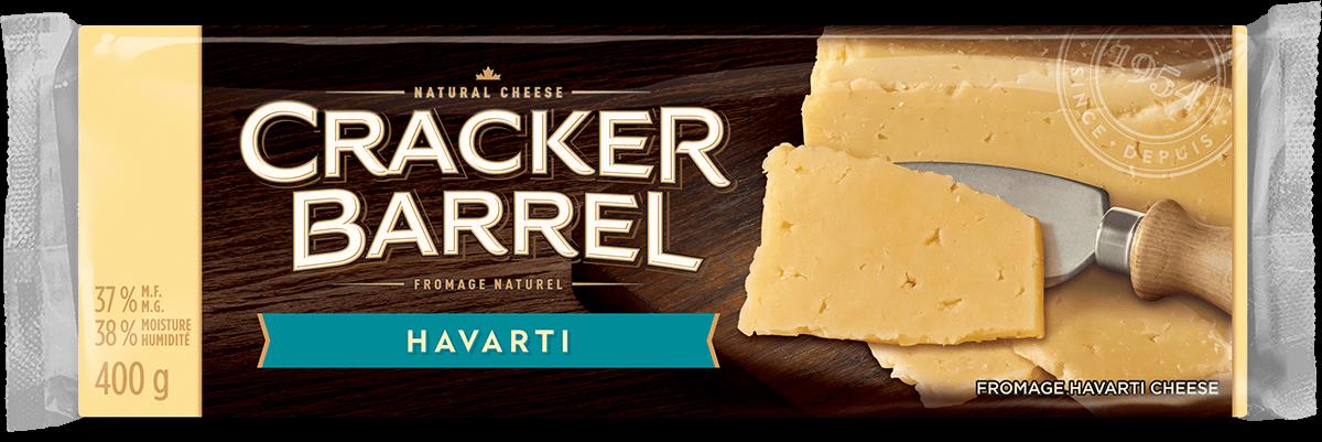 Cracker Barrel Cheese Block - Havarti - 400 g
