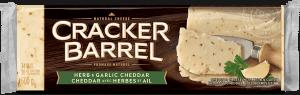 Cracker Barrel Cheese Block - Herb & Garlic - 600 g