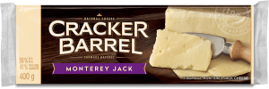 Cracker Barrel Cheese Block - Monterey Jack - 400 g