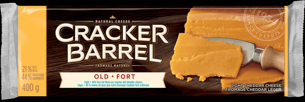 Cracker Barrel Cheese Block - Old Light - 400 g