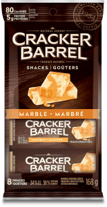 Cracker Barrel Snack - Marble - 8 Snacks - 168 g