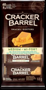 Cracker Barrel Snack - Medium Light - 8 Snacks - 168 g