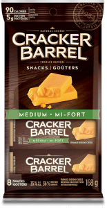 Cracker Barrel Snack - Medium - 8 Snacks - 168 g