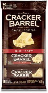 Cracker Barrel Snack - Old - 8 Snacks - 168 g