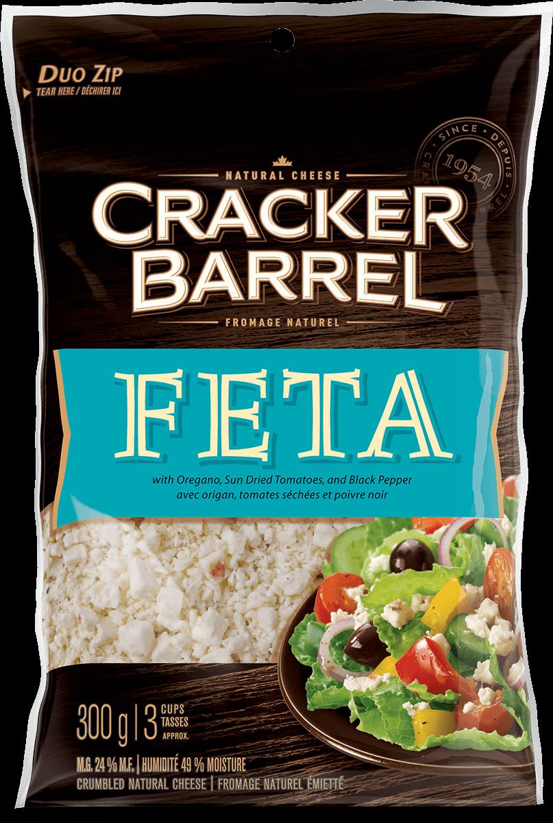 Cracker Barrel Shredded Cheese - Feta - 300 g