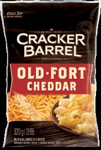 Cracker Barrel Shredded Cheese - Old Cheddar - 320 g