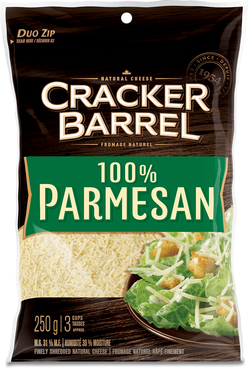 Cracker Barrel Shredded Cheese - Parmesan - 250 g