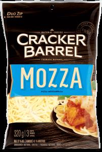 Cracker Barrel Shredded Cheese - Mozzarella - 320 g