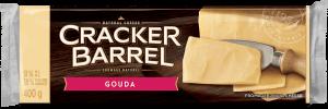 Cracker Barrel Cheese Block - Gouda - 400 g