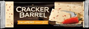 Cracker Barrel Cheese Block - Jalapeño Cheddar - 400 g