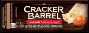Cracker Barrel Snack - Habanero Monterey Jack
