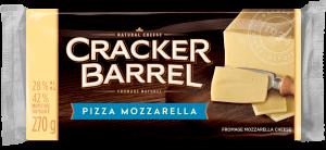 Cracker Barrel Cheese Block - Pizza Mozzarella - 270 g