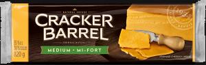Cracker Barrel Cheese Block - Medium - 820 g