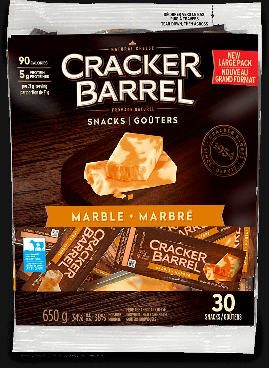 Cracker Barrel Snack - Marble - 30 Snacks - 650 g
