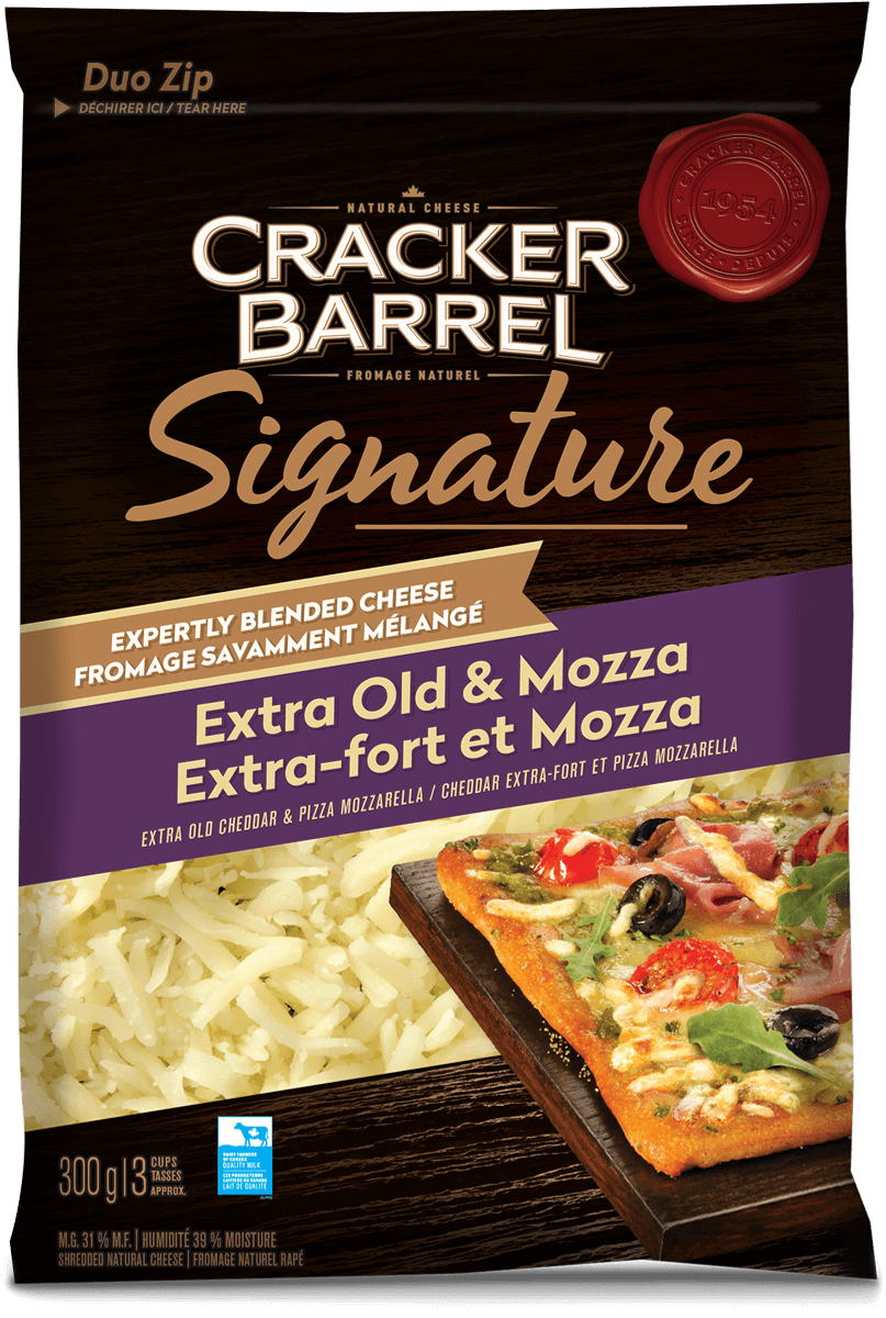 Cracker Barrel Signature Blend - Extra Old & Mozza - 300g