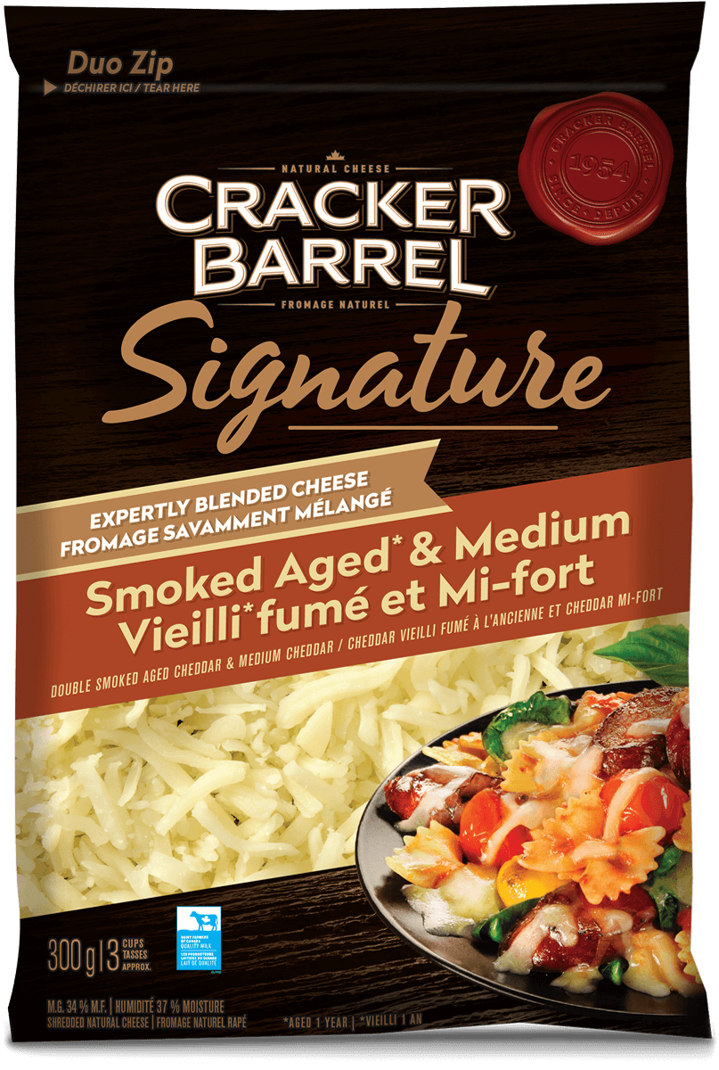 Cracker Barrel Signature Blend - Smoked Aged & Medium - 300g